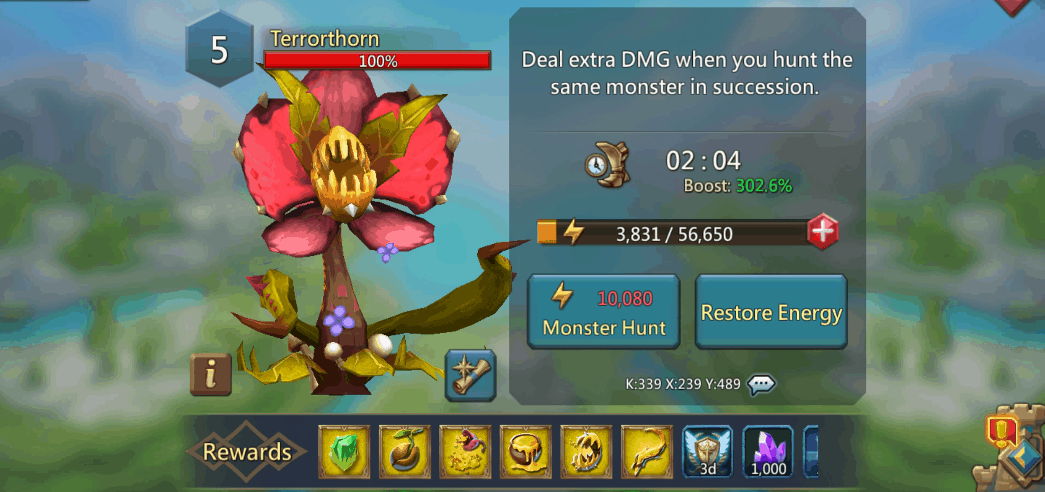 Terrorthorn