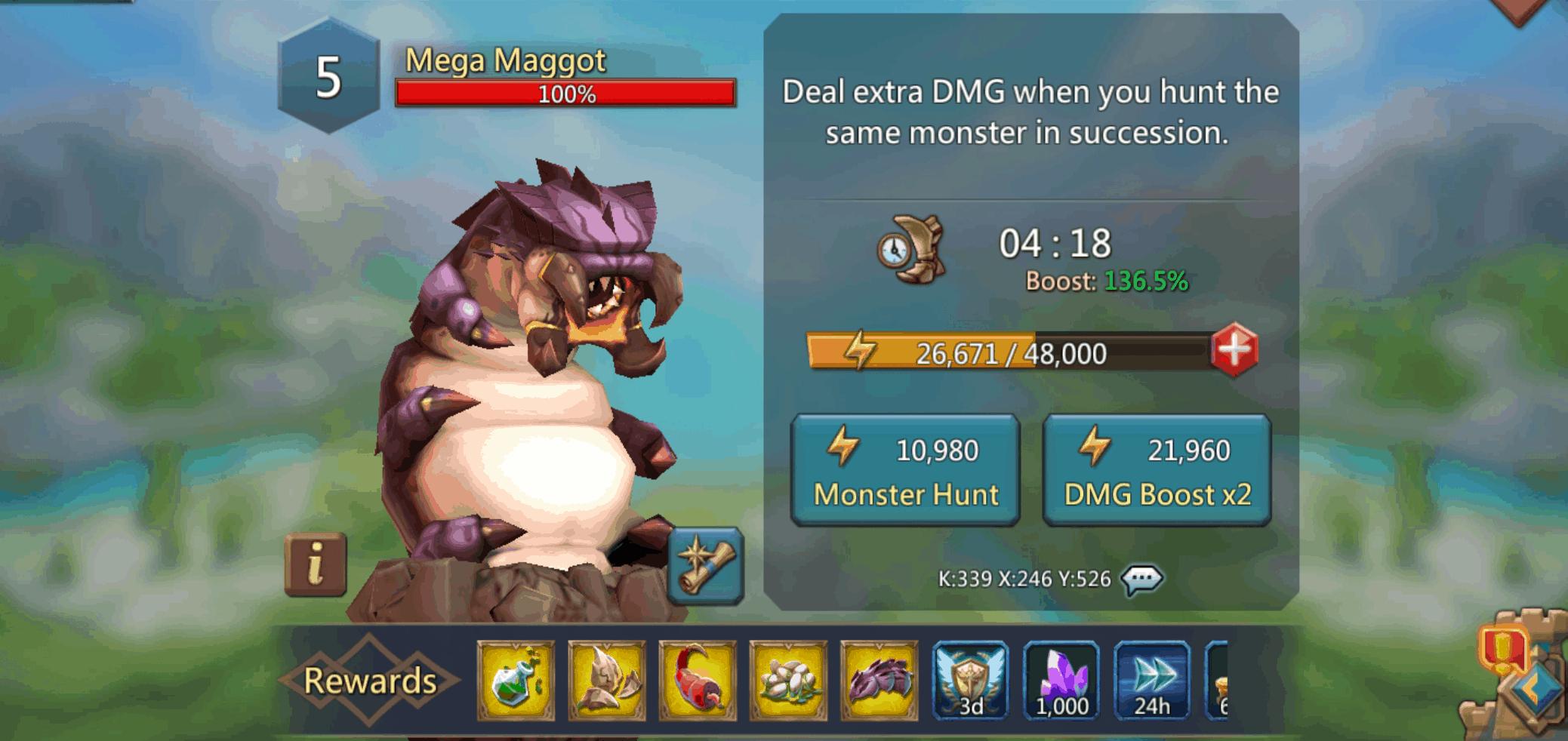 Mega Maggot