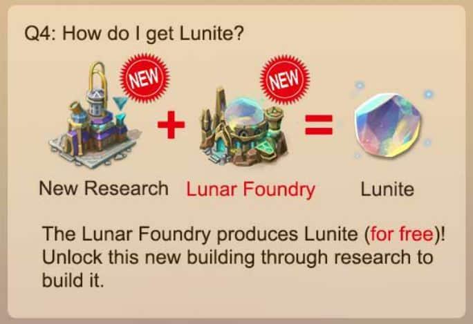 How do I get Lunite?